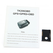 TK206 Car Vehicle OBDII Interface GPS GPRS Tracker with Vibration Alarm