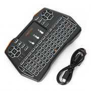 VIBOTON i8 Plus 2.4G Wireless Keyboard Fly Air Mouse Touchpad Backlight Version