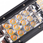 DY - 093 - WA - 180W - C 13 inch Three Row LED Spot Work Light Bar with Power Cable