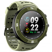 NO.1 F18 Smartwatch Sports Bluetooth 4.2 IP68 Waterproof Call / Message Reminder Pedometer Sleep Monitoring
