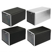 JA1301 Automatic Rotation Watch Winder Display Box Transparent Cover Jewelry Storage Organizer with EU Plug