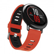 22mm Soft Breathable Silicone Sports Strap Smartwatch Wristband for AMAZFIT Smart Watch