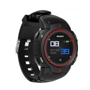 NO.1 F13 Smart Watch Real-time Heart Rate Monitor Remote Camera Sports Outdoor Wristband
