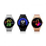 K88 Smartwatch Bluetooth 4.0 IP65 Waterproof Sedentary Reminder Sleep / Heart Rate Monitor Pedometer Remote Camera Anti-lost Find Phone