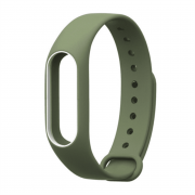 Double-color Anti-lost Design TPE Wristband for Xiaomi Mi Band 2