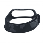 Camouflage Replacement Silicone  Strap Wristband for Xiaomi Mi Band 3
