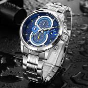 Cadisen 9054 Fashion Men Big Dial Multifunctional Quartz Watch