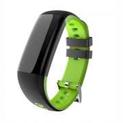 G16 Color Screen Smart Band Pedometer Heart Rate Blood Pressure Calorie Step Monitoring  Fitness Bracelet GREEN
