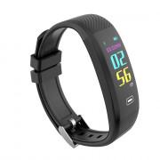 Z4 Smart Bracelet IP67 Color Screen Heart Rate Blood Pressure Oxygen Monitor OLED Bluetooth Sport Pedometer Wrist band BLACK