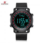 NAVIFORCE 9130 Male Digital Watch Stopwatch Calendar RED