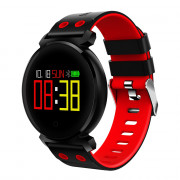 Star 38 Bluetooth Smart Watch Professional Blood Pressure Oxygen Heart Rate Monitors 30M Life water proof RED