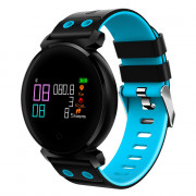 Star 38 Bluetooth Smart Watch Professional Blood Pressure Oxygen Heart Rate Monitors 30M Life water proof BLUE
