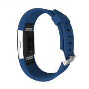 Diamond Pattern Wristband Replacement Strap for Fitbit Charge 2 OCEAN BLUE