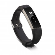 Wrist Band Silicon Strap Clasp For Fitbit Alta Smart Wristband Watch BLACK