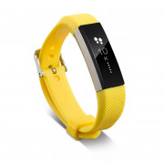 Wrist Band Silicon Strap Clasp For Fitbit Alta Smart Wristband Watch YELLOW