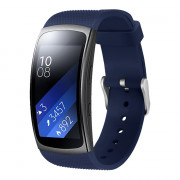 Silicone Replacement Strap for Samsung Gear Fit2 / Pro MIDNIGHT BLUE