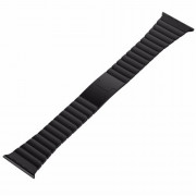 42MM Luxury Stainless Steel Link Bracelet for Apple Watch Band Series 3 2 1 Stainless Metal Strap BLACK
