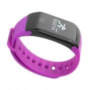 Star 15 Fitness Tracker HR Blood Pressure Oxygen Heart Rate Monitor  Health IP67 Waterproof Smart Bracelet with Step PURPLE