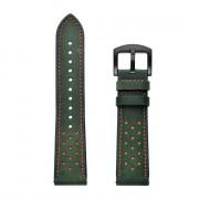 Genuine Leather Watch Strap 22mm for Xiaomi Huami Amazfit Stratos 2 /2S DARK FOREST GREEN