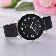 Lvpai P383 Multicolor Belt Black Frame Casual Ladies Quartz Watch BLACK