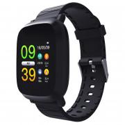 M30 1.3 inch Smart Bracelet Sleep HR Blood Oxygen Pressure Monitor IP67 Waterproof Message Alarm Smartwatch BLACK