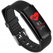 VO370C Heart Rate Oximeter Step Sleep Monitoring Smart Bracelet BLACK
