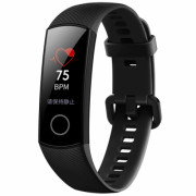 HUAWEI Honor 4 Bracelet 0.95 inch Screen Bluetooth 4.0 Call / Message Reminder Heart Rate Monitor Blood Pressure Functions BLACK
