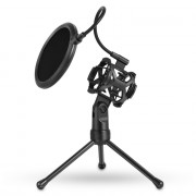 PS - 2 Microphone Filter with Desktop Stand