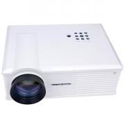 PH580 LCD 3200 Lumens 2000:1 Contrast LED Projector Support HDMI USB TV AV VGA (US Plug)