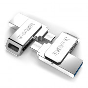 Teclast NYO - S3 16GB 2 in 1 USB 3.0 Flash Drive Micro USB Memory Storage Gadget