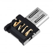 USB to Micro USB Male OTG Adapter Compatible with USB Disk / Phone / Tablet