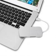 USB 3.0 Hub Card Reader Combo 5 Port with SD / TF
