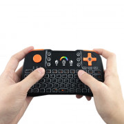 TZ10 Wireless Mini Keyboard Touchpad with Colorful Backlight Function