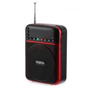LONGRUNER JM9015 Compact Voice Amplifier FM Radio Speaker Music Player