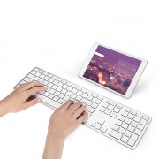 BK418 Bluetooth Keyboard 104 Keys for iOS Android Windows