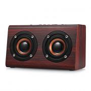 W7 Wooden Bluetooth Speaker