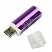 4 in1 USB 2.0 Card Reader SD / Micro SD / TF / MS / M2