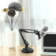SCIMELO NB35 - S Professional Microphone Stand Round Base Adjustable Holder