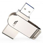 EAGET F60 USB Flash Drive USB 3.0 Rotary Design Memory Stick for Computer