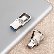 EAGET CU20 USB Flash Drive Type-C 3.1 USB 3.0 2-in-1 Rotary Design
