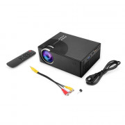C7 Portable LCD Projector Home Theater 2000 Lumens 800 x 480P Support 1080P