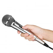 HS - 111X Professional Handheld Wired Cardioid Dynamic HiFi Microphone