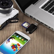 Multifunctional OTG Card Reader Micro SD / SD Card / USB Reader