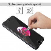 Tempered Glass Screen Protector Film - Transparent (Hd Ultra Clear) for Iphone 8 plus