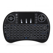 I8 Portable Wireless Mini Keyboard Backlight Function with Touchpad