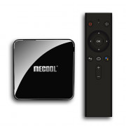 MECOOL KM3 Android 9.0 Voice Control TV Box Google Certificated Amlogic S905X2 4GB DDR4+ 64GB EMMC 2.4G + 5G WiFi Bluetooth 4.1 USB 3.0 Support 4K