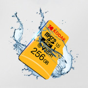 Kodak High Speed U3 A1 V30 TF / Micro SD Memory Card Support 4K Resolution