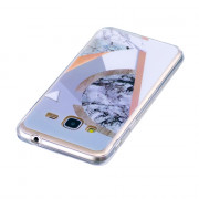 Marbling Phone Case For Samsung Galaxy J3 2016 J310 Case Trend Fashion Soft Silicone TPU Cover Cases Protection Phone