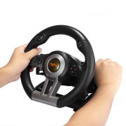 PXN V3II Racing Game Steering Wheel with Foldable Pedal