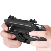 Mobile Game Controller Grip Extended Handle with Trigger Joystick for iOS / Android